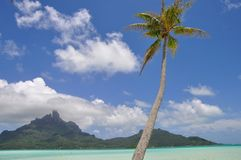 Bora Bora franska Polynesien Royaltyfri Fotografi