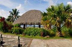 Bora Bora franska Polynesien arkivfoton