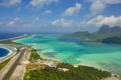 Bora Bora franska Polynesien arkivbild