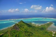 Bora Bora franska Polynesien fotografering för bildbyråer