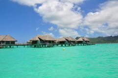 Bora Bora, french polynesia Royalty Free Stock Photos