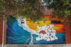 Bora Bora Graffiti Royalty Free Stock Images