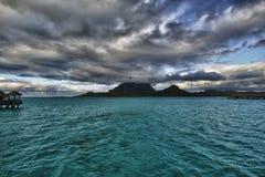 Bora-Bora Idyllic Paradise Island stockbild