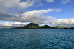 Bora-Bora Idyllic Paradise Island stockfotografie
