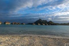 Bora-Bora Idyllic Paradise Island lizenzfreie stockfotos