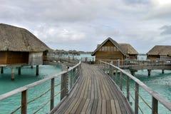 Bora-Bora Idyllic Paradise Island imagens de stock