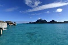 Bora-Bora Idyllic Paradise Island fotografía de archivo libre de regalías