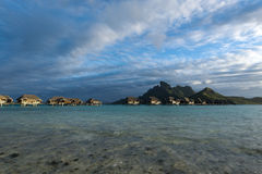 Bora-Bora Idyllic Paradise Island fotos de archivo
