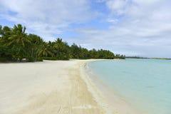 Bora-Bora Idyllic Paradise Island lizenzfreie stockbilder