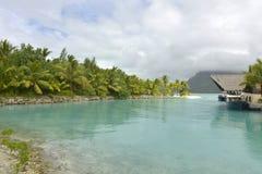 Bora-Bora Idyllic Paradise Island lizenzfreies stockfoto