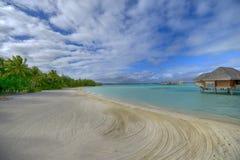 Bora-Bora Idyllic Paradise Island Stock Photos