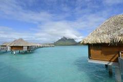 Bora-Bora Idyllic Paradise Island Stock Photography