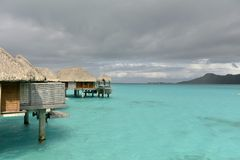 Bora-Bora Idyllic Paradise Island Stock Image