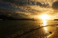 Bora-Bora Idyllic Paradise Island Royalty Free Stock Photography