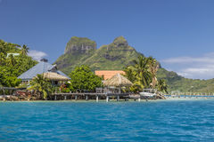 Bora Bora Island - Französisch-Polynesien Stockfoto