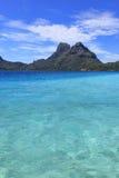 Bora Bora lagun Royaltyfri Foto