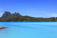 Bora Bora lagun Royaltyfria Foton