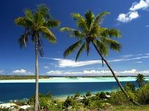 Bora Bora Lagune Lizenzfreies Stockbild