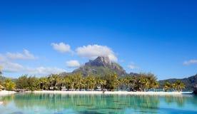 Bora Bora landscape Stock Image
