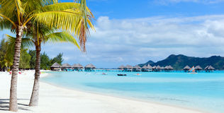 Bora Bora landscape Royalty Free Stock Photos