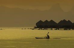 Bora Bora no South Pacific Imagens de Stock