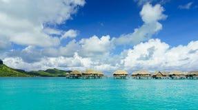 Bora Bora panoramique photographie stock libre de droits