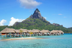 Bora Bora Paradise Royalty Free Stock Photography