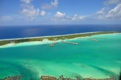 Bora Bora, Polinésia francesa Foto de Stock Royalty Free