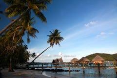 Bora Bora, Polinesia francese Fotografia Stock Libera da Diritti