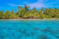 Bora Bora, Polinesia francese Fotografie Stock Libere da Diritti