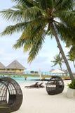 Bora Bora resort Stock Photography