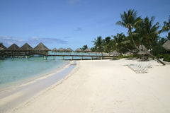Bora Bora summer resort Royalty Free Stock Image