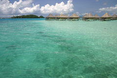 Bora Bora summer resort Royalty Free Stock Photography