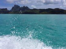 Bora Bora Tahiti Fotografie Stock