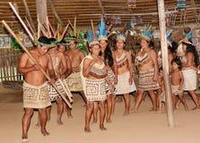 Bora Community Performaning Dance Fotos de archivo