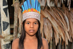 Bora Tribe Child Lizenzfreies Stockbild
