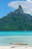 Borabora quiet paradise Royalty Free Stock Images