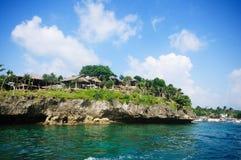 boracay τοπίο των Φιλιππινών τροπ&iot Στοκ εικόνα με δικαίωμα ελεύθερης χρήσης