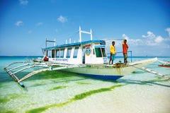 Boracay Fotografering för Bildbyråer