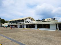 Boracay Airport stock images