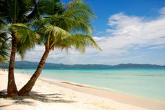 Boracay Beach. In the philippines stock image