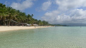 Boracay beach. In the philppines royalty free stock photo