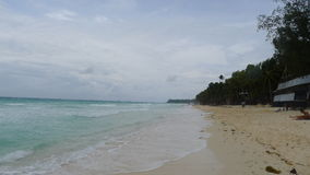 Boracay beach. In the philppines royalty free stock image