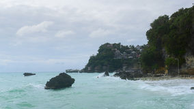 Boracay beach. In the philppines royalty free stock photography