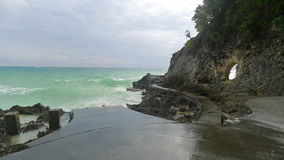 Boracay beach. In the philppines stock photography