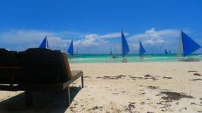 Boracay beach. In the philppines stock photo
