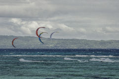 Boracay den internationella funboardkoppen 2015 Arkivfoton