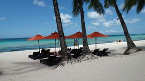 Boracay. Escapade unwind beach side Stock Image