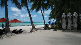 Boracay. Escapade unwind beach side Stock Photo