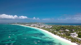 Boracay Ilsand Filippine stock footage